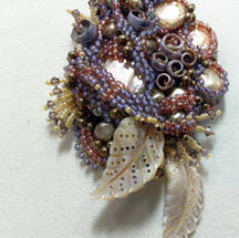 Sea shell bead
